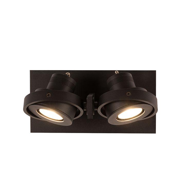 Luci-1 LED spot van Zuiver is een stoer spotje voor aan de muur of het plafond, verstelbaar in alle richtingen. Geschatte levertijd: 10 werkdagen.