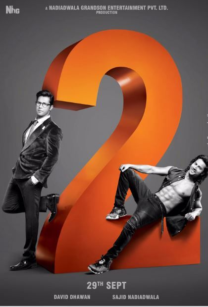 Judwaa 2 Varun Dhawan upcoming movie first look out