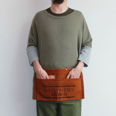 10 TOOL MAKERS WAIST APRON_NEW BROWN