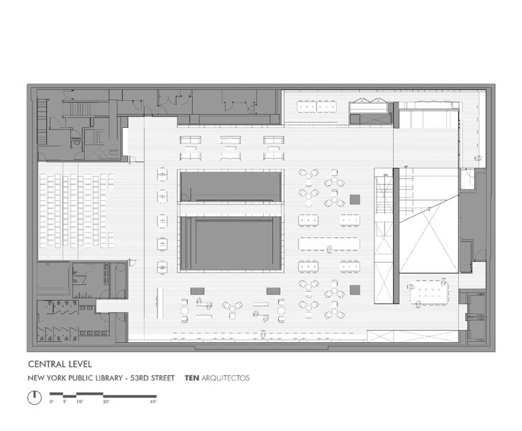 Gallery of New York Library   TEN Arquitectos - 8 Modern library - new aia final completion