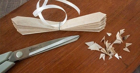You will need:   Tissue paper  Scissors  Wire  Small wire cutters  Ribbon   For more details please visit :  complete instructions