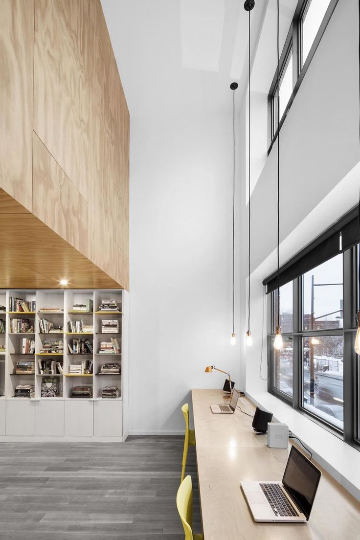 "PlyPlay™ Prefinished Plywood panel for interior locations.""In Suspension"" Urban Ply residence with Athletic appeal — PlyPlay™ Prefinished Plywood panel for interior locations."