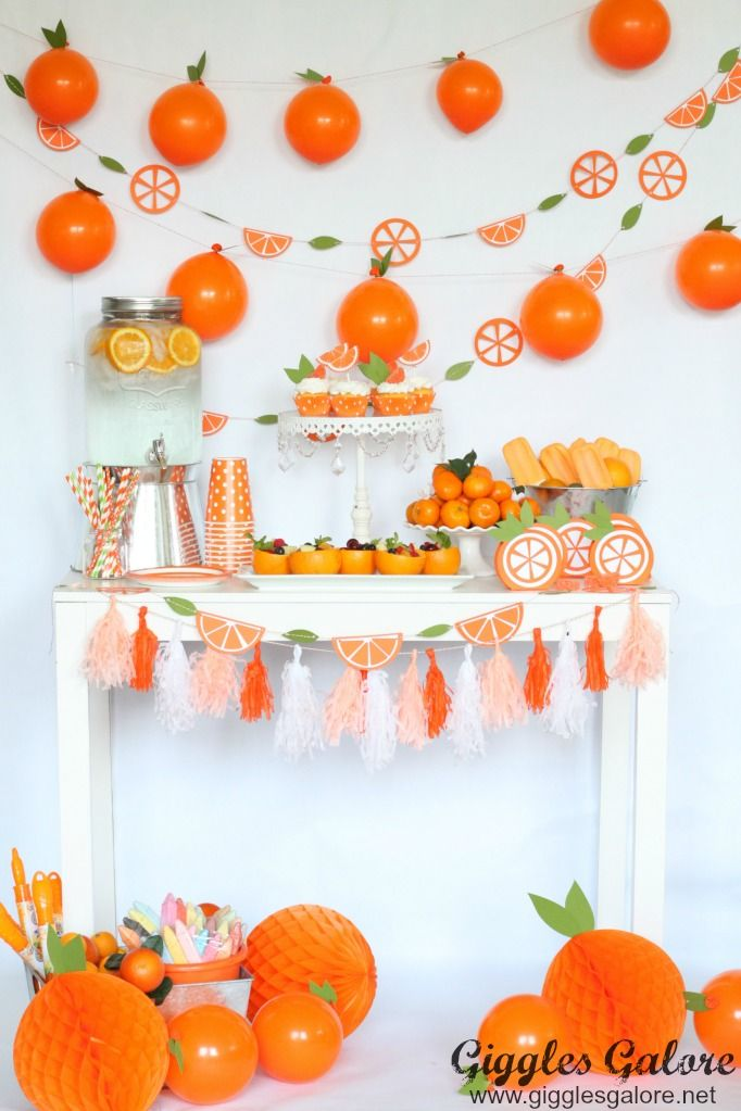 As the school year comes to an end we are celebrating with a citrus inspired Ora…