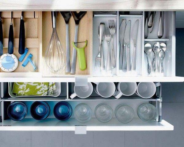 48 best Küche images on Pinterest Kitchen, Kitchen ideas and Live - schubladen ordnungssystem küche