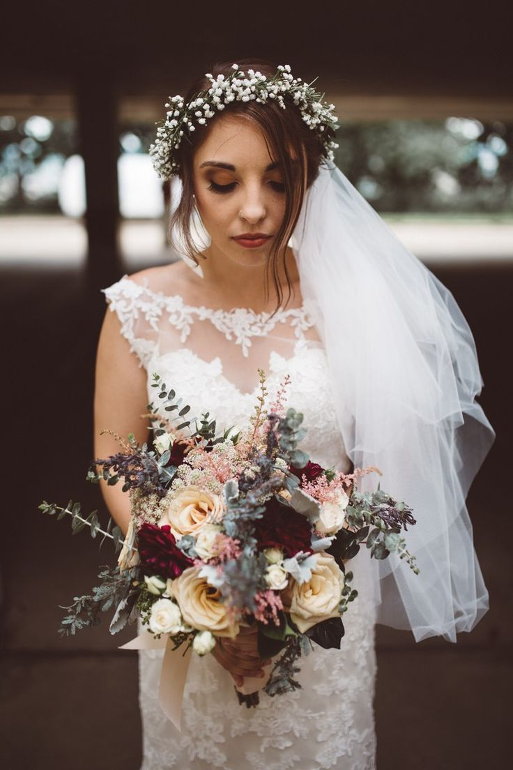 35 Whimsical Flower Crown Wedding Hairstyles Flower Crown Hairstyle Flower Crown Wedding Veil Flower Crown Bridesmaid
