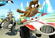 3D Cartoon Network Formula Yarışı oyununda birçok çizgi film karakteri bulunmaktadır. Bu karakterden bir tanesinin kontrolünü sağlayarak diğer çizgi film karakterleri ile kıyasıya yarışmalısınız. Yarışırken rakiplerinize tuzaklar kurabilirsiniz. Ayrıca rakibinizin size de kuracak olduğu tuzaklara çok dikkat etmelisiniz. http://www.3doyuncu.com/3d-cartoon-network-formula-yarisi/