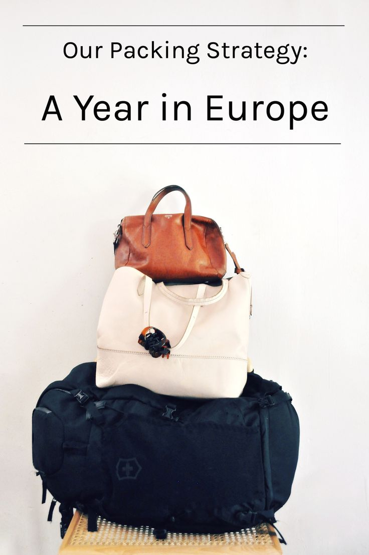 We have had lots of people asking how we packed for a year-long trip to Europe.  The short answer is: we each took one pack and one smaller bag, and we did lots of research on what to put in them. The long answer… well, I could talk for about five minutes just on how we arranged our bags. Which I did. In this video.