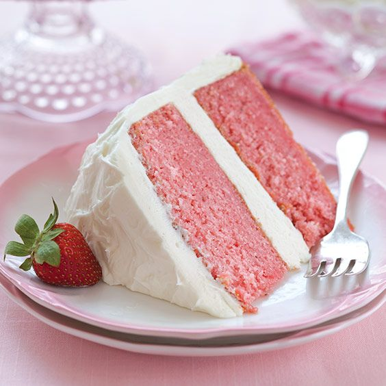 Strawberry Cake With Cream Cheese Frosting Paula Deen