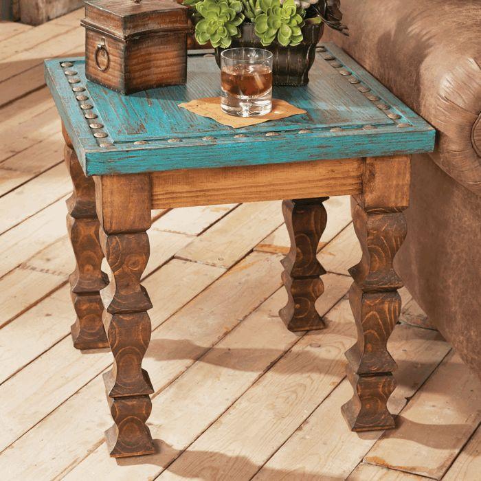 ideas decoracion mesa madera rustica con planta y vaso de wiskey decoracionconplantas - Mesa De Madera Rustica