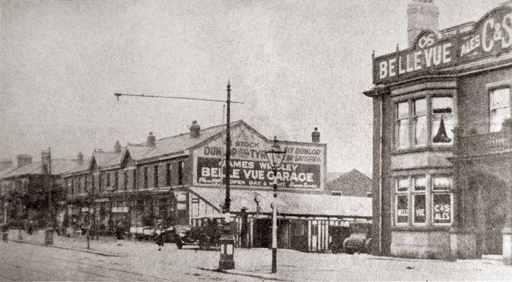Whitegate Lane, now Whitegate Drive.