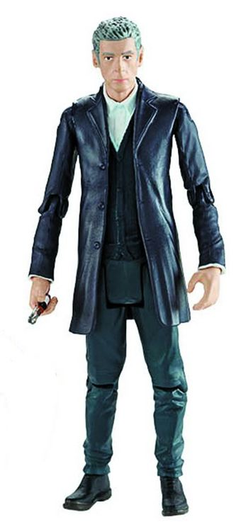 "Underground Toys have shared photos for the next wave of Doctor Who 3.75"" action figures. The Twelfth Doctor Gold Supreme Dalek Tenth Doctor in Blue Suit The Eleventh Doctor in Green Coat Amy Pond in Brown Jacket Skovox Blitzer Look for these to start..."