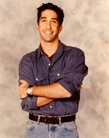 To clarify it is Ross Geller I am in love with, not David Schwimmer.