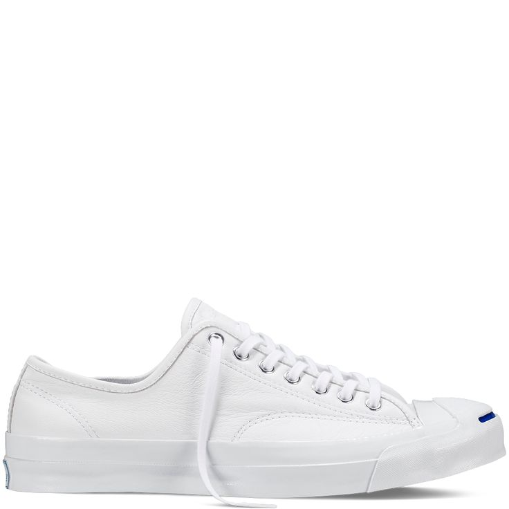 Converse - Jack Purcell Signature Goat Leather - White - Low Top