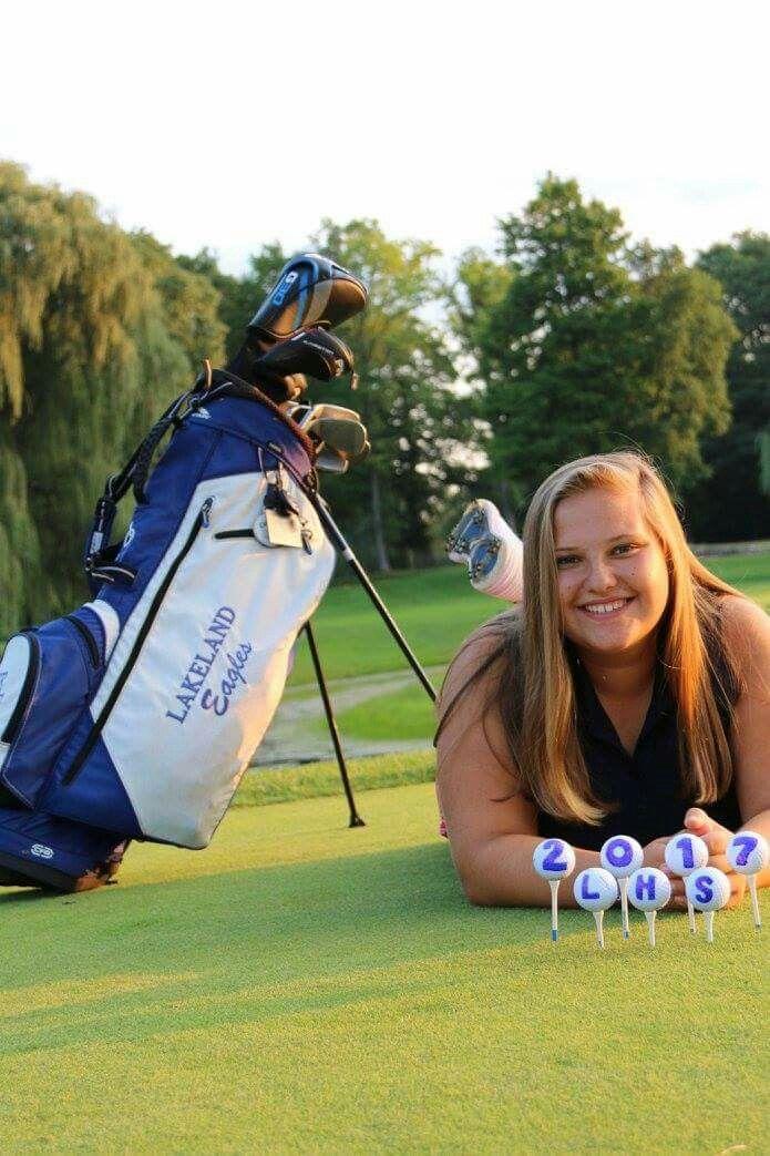 Senior pictures golf