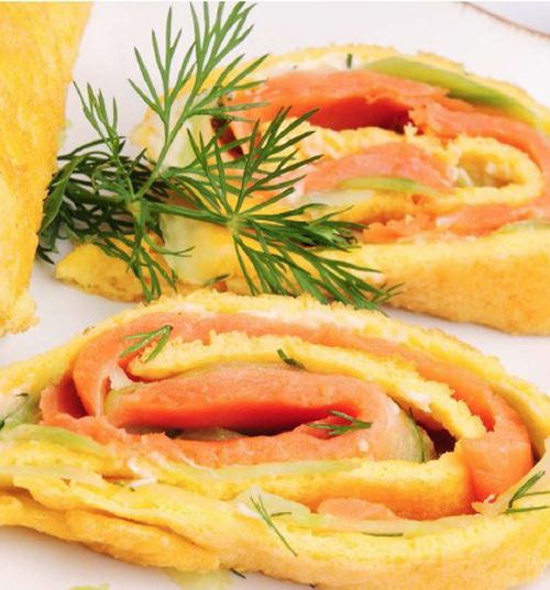 Let's do some salmon rolls! yumyum