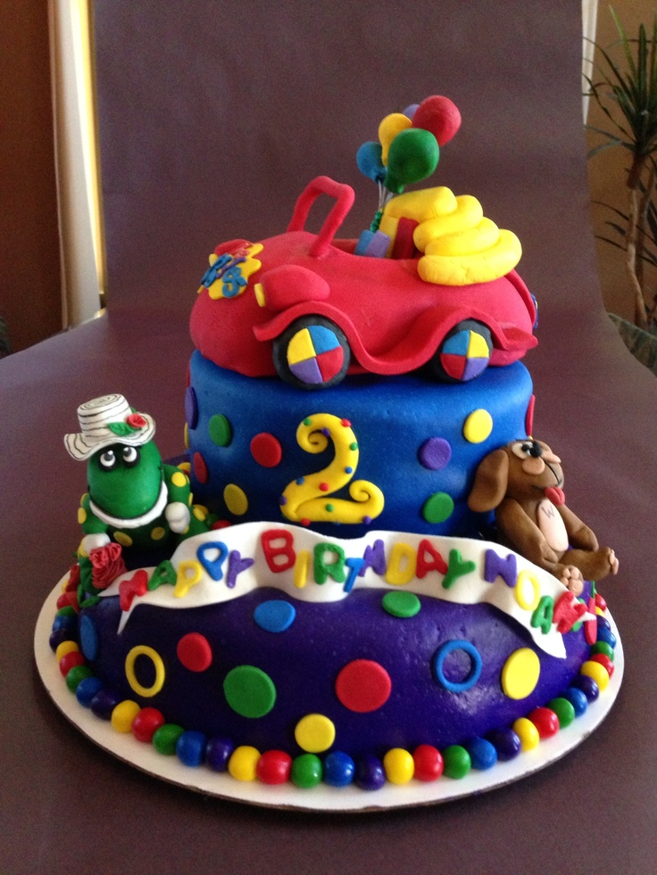 10 Best Cake Ideas Images On Pinterest Wiggles Birthday Wiggles