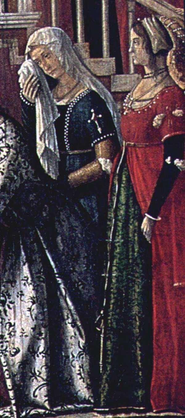 Turkish influenced coat! The Venetian Look in the Carpaccio Era (pre 1500 to 1510) - Venus' Wardrobe
