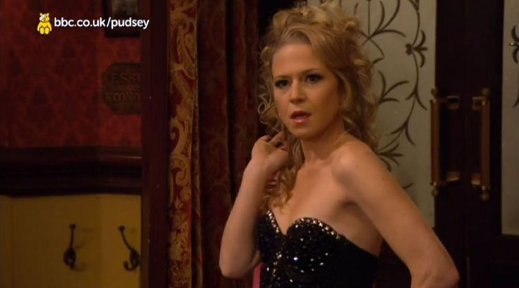 "In the Children in need 2014 Kellie Bright says to Danny Dyer "" tell me about it Gesure "" xD"