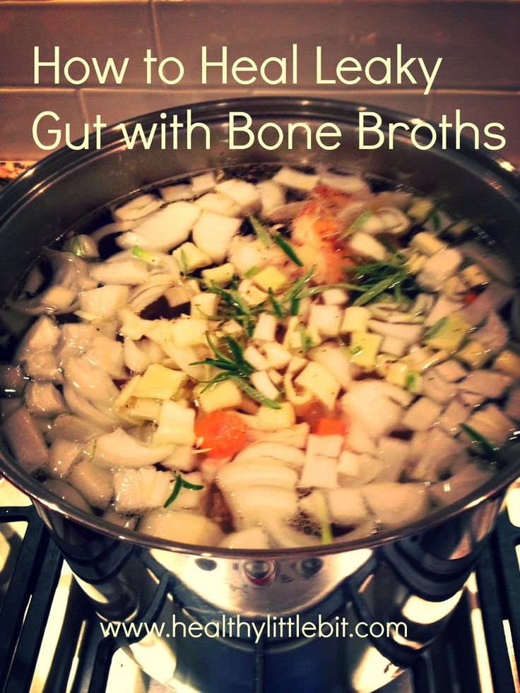 'Leaky gut can cause irritable bowel, joint pain, fatigue, cognitive problems, depression, allergies, congestions and rashes like eczema.' Dr. Mark Hyman   *Bone broths are a powerful lost food, this link explains exactly how to make them and heal your leaky gut syndrome*