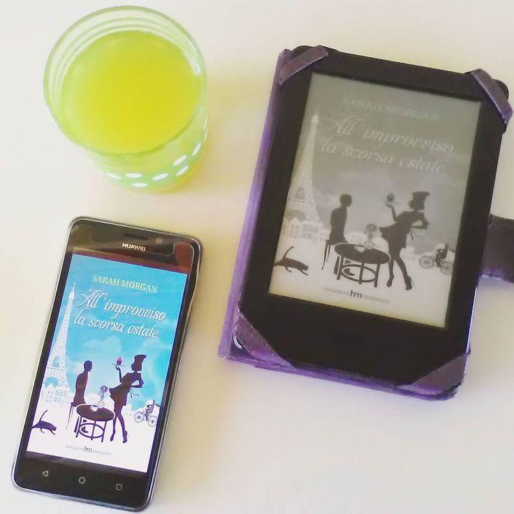"""Giorno 19 (ieri)  della #challengebookjuly2016 - un titolo estivo: """"All'improvviso la scorsa estate"""" di Sarah Morgan!  #libro #leggere #lettura #romanzo #sarahmorgan #estate #libri #letture #ebook #kindle #booklover #book #bookstagram #instalibro #books #lettore #bookblog #bookworm #libriovunque #libridaleggere #instalike #like #instadrink"""