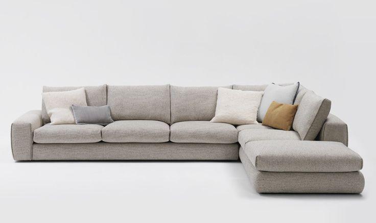 Very stylish and cosy looking lounge.  Hudson Modular Lounge by Jardan.