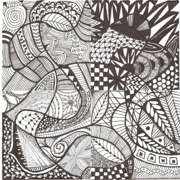 Elementary Art Line Design : Zentangle pattern gallery zentangles elementary art