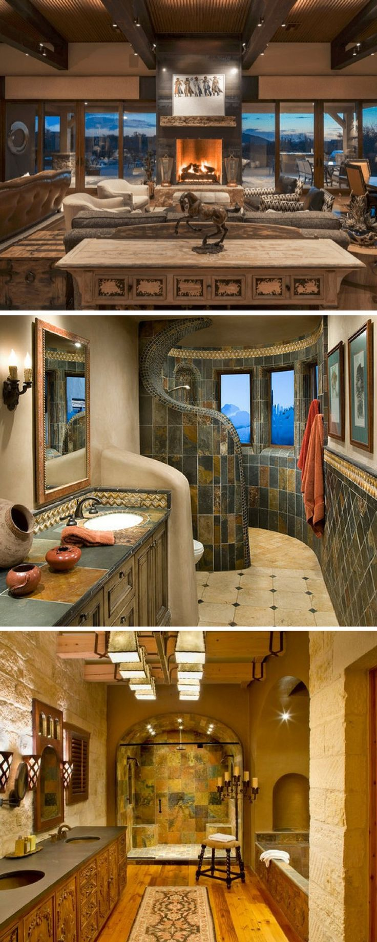 Southwest decor living room   best Ideas for the House images on Pinterest  Interior