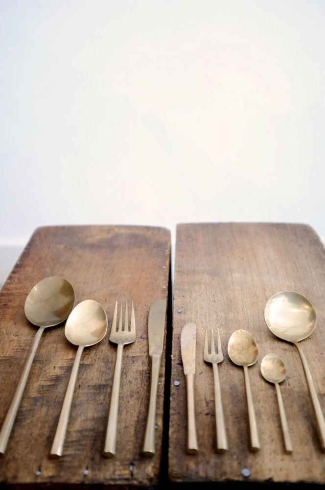 Rustic silverware recalls meals past. | Downton Abbey, as seen on Masterpiece PBS