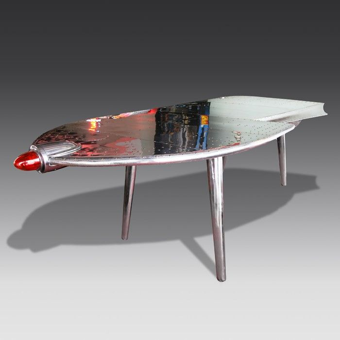 Vintage-Style Aeroplane Wing Desk | The Games Room Company