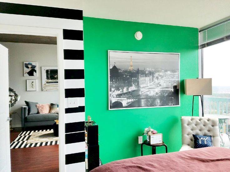 Best 25+ Green Accent Walls Ideas On Pinterest