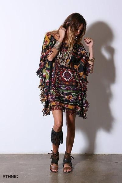 bohemain cool fashion | bohemian boho clothing fringe ...