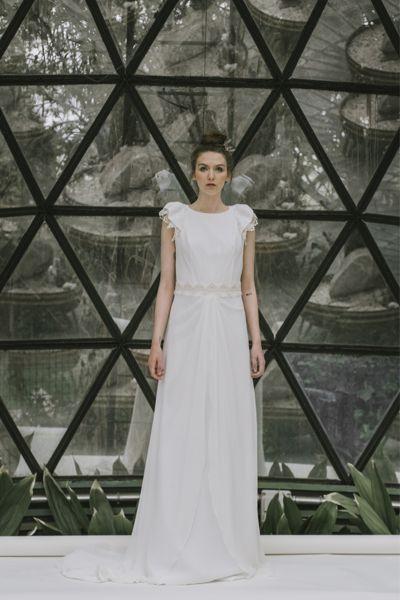 Vestidos de novia cuello redondo 2017: Un diseño que no pasa de moda Image: 29