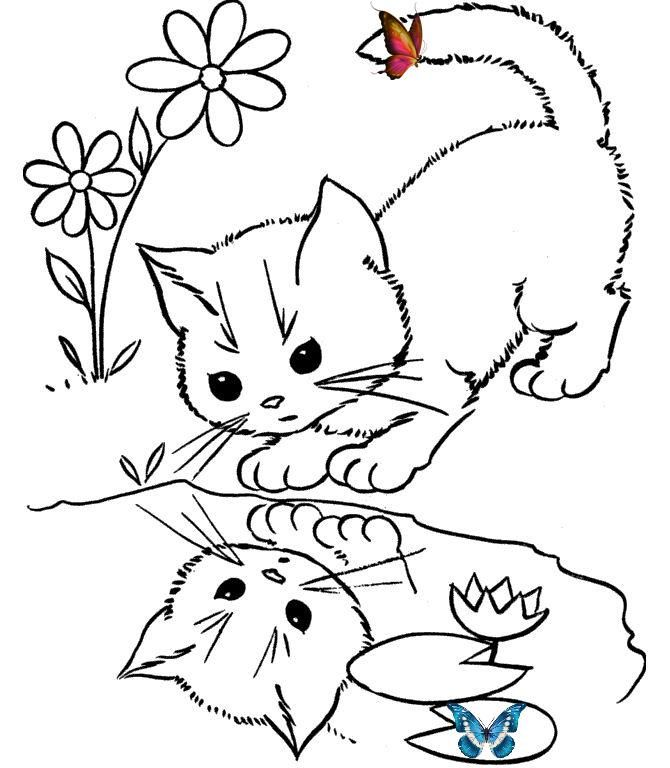 Kedi Boyama Sayfasi Okuloncesitr Preschool Kedi Boyama Sayfasi Cat Coloring Pages Free Printable Br Kedi Boy I 2020 Kattteckning Malarbocker For Vuxna Malarbocker