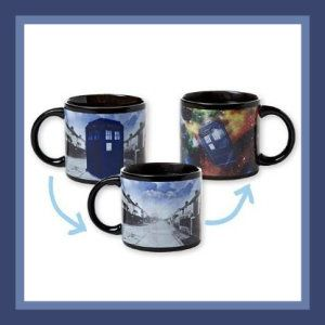 Ceramic Mugs Variety Doctor Who's Disappearing Tardis Mug. I will only say that this mug is not dishwasher safe but is microwave safe. I will let the video do my talking for me. Watch the video @ http://theceramicchefknives.com/ceramic-mugs-variety/