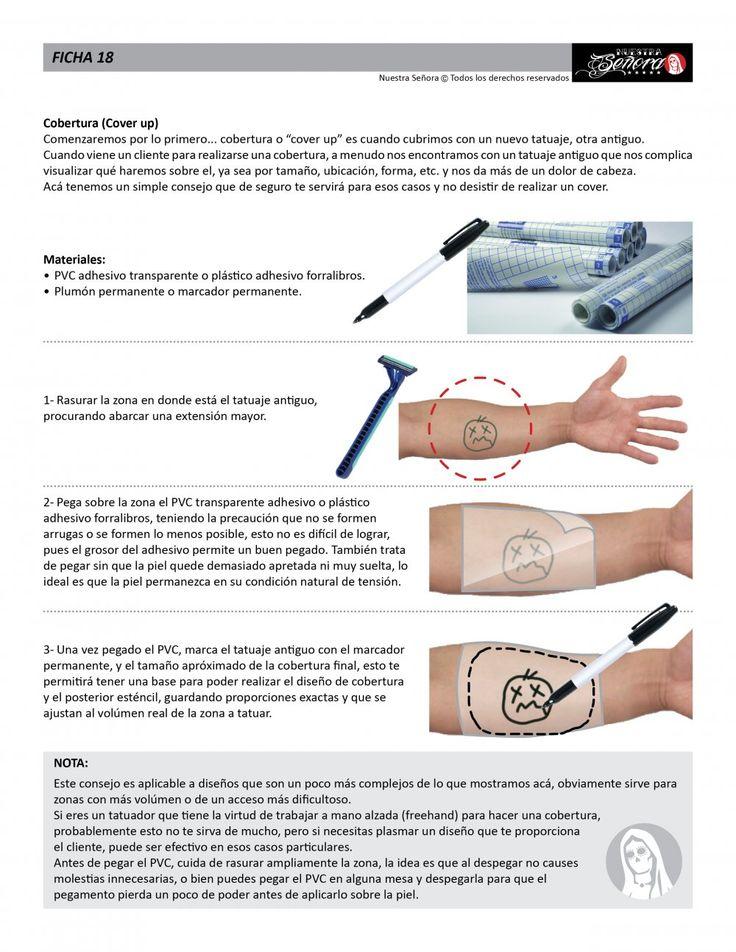 Ficha 18 / Cobertura (cover up) - Caos Tattoo | Estudio de tatuajes profesional | Tatuadores en Santiago