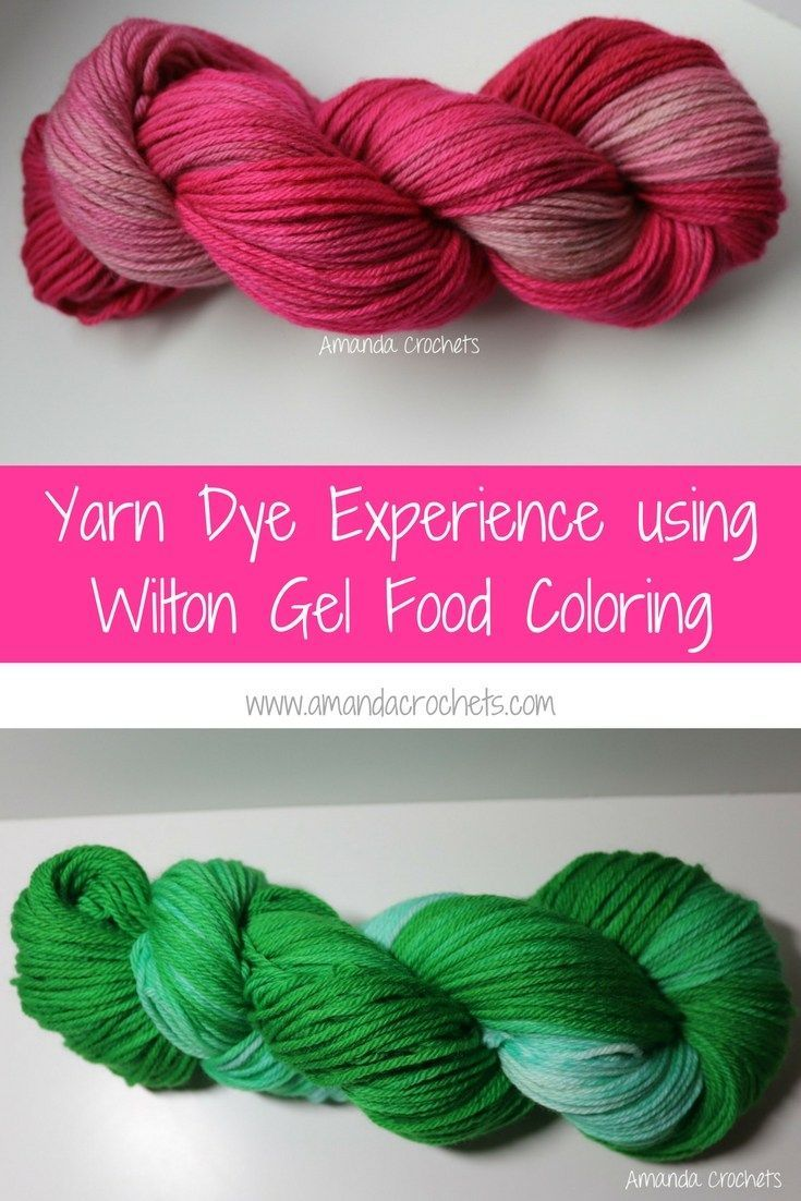 Food Coloring Tie Dye Food Coloring Tie Dye Yarn Dyeing How To Dye Fabric