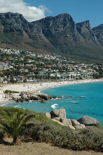 Clifton Beach, Cape Town, #SouthAfrica..., one of the most breathtaking places that I've been to date :) would love to go back someday with someone special, besides my bro :P