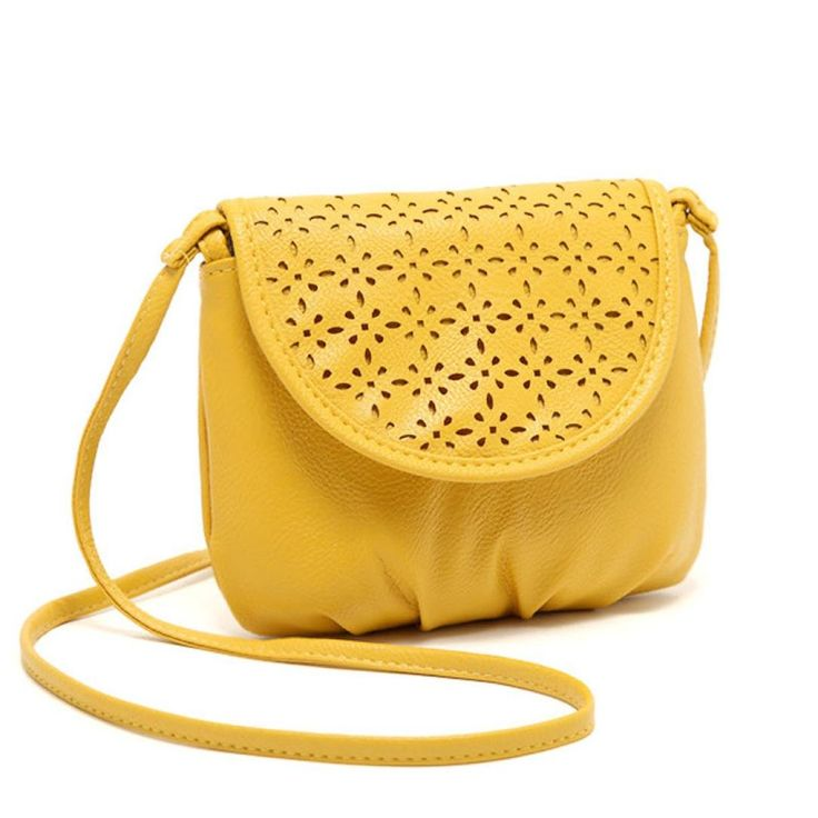 Cute Shoulder Bag,Hemlock Women Girl Mini Handbag Casual Crossbody Purse Bag (Yellow). ➽100% brand new and high quality. ➽Material: Artificial Leather. ➽Size: 17*15*3 cm / 6.7*5.9*1.2 inch. ➽ As a perfect gift for yourself or your friends. ➽Select your shipping way:Standard or Expedited(faster).
