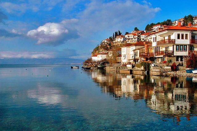 Ohrid, Macedonia -- My favorite place in Macedonia :)