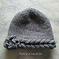Bonnet braid, the tutorial (DIY) - Patty Crochet