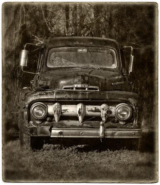 Old Farm Truck in North Carolina