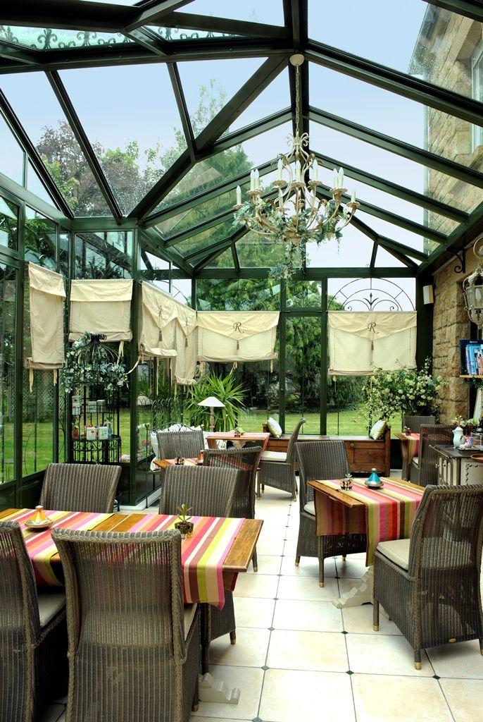 Photo : toiture de véranda en double vitrage avec contrôle solaire