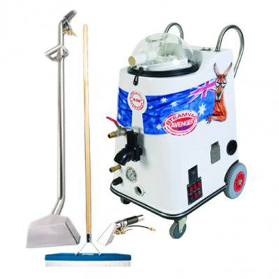 Steamvac Avenger Carpet Cleaning Start Up Package For Sale - $8,290. The Steamvac Avenger Carpet Cleaning Start Up Package has been designed to help new businesses find their feet and get started on their operations straight away. For more information, visit www.steamaster.com.au or call us now on 1300 855 677