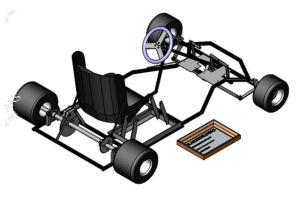 Build a Go-Cart of Your Own With One of These Free Plans: Free Go-Cart Plan from Cut Price Racing