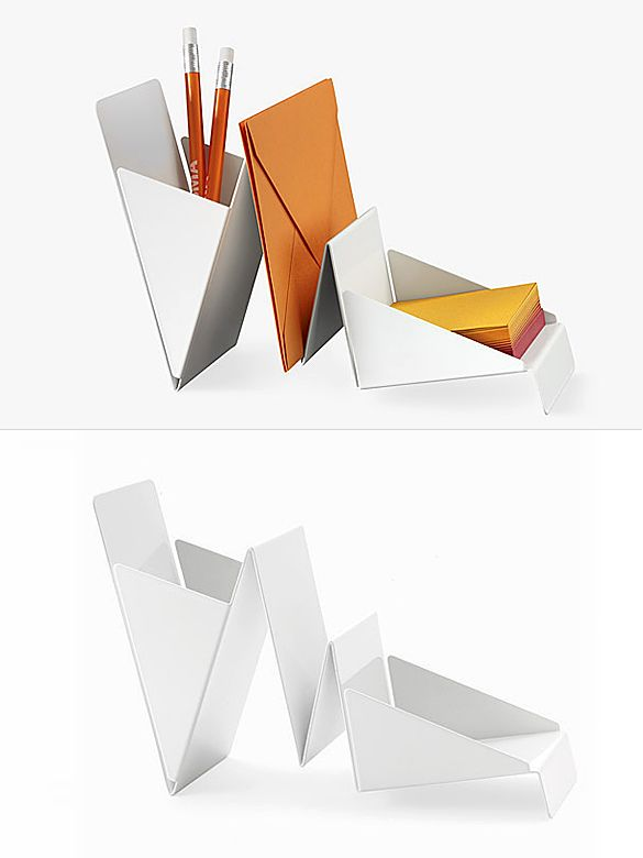 17 best images about office furniture on pinterest - Origami desk organizer ...