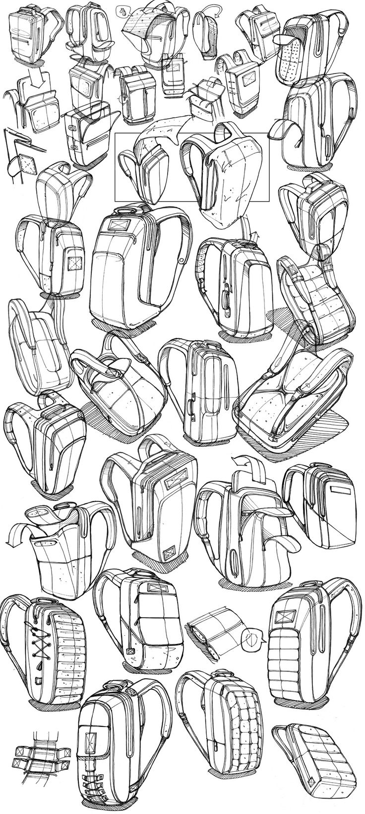 Urban Commuter Bag [WIP] on Behance