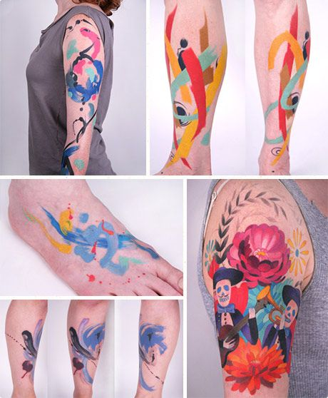 Amanda Wachob tattoo designs... if I ever get a tattoo (highly unlikely) its gonna be something like this