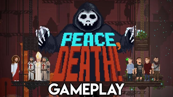 Peace, Death! Gameplay   Grim Reaper Simulator 2D Pixel Art Indie Game