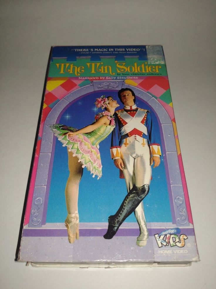 The Tin Soldier Hans Christian Anderson 1992 VHS Narrated by Sally Struthers VCR