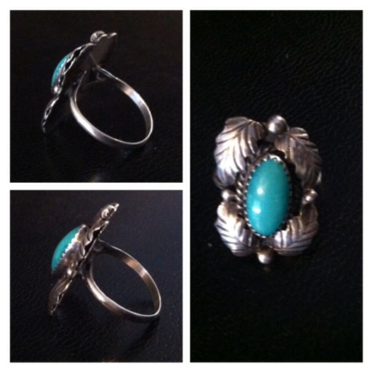 Turquoise ring from estate sale.